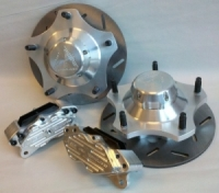 Gray Area Combo Front Brake Kit 4 piston