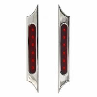 BLADE Rear Billet LED tail and stop light, For Sand-Rail, Harley Bagger, Hot-Rod
