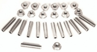 Ls1 Stainless Steel Oil Pan Stud Kit, Aftermarket Pan